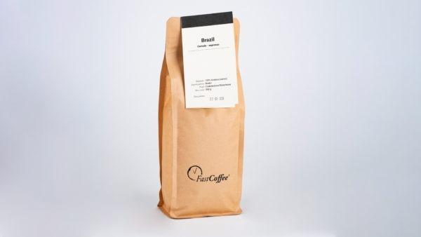 Kawa Fastcoffee Brazylia 100% Arabica 500g