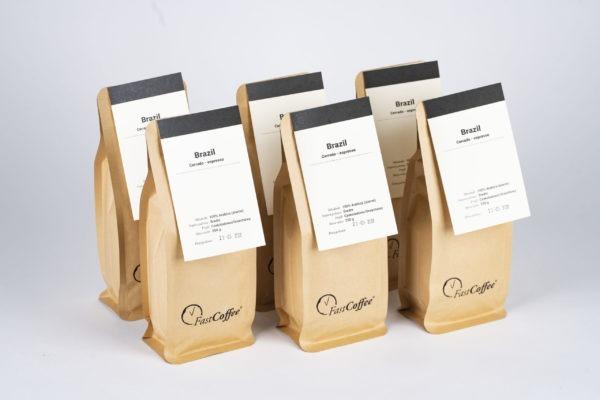 Kawa Fastcoffee Brazylia 100% Arabica 250g