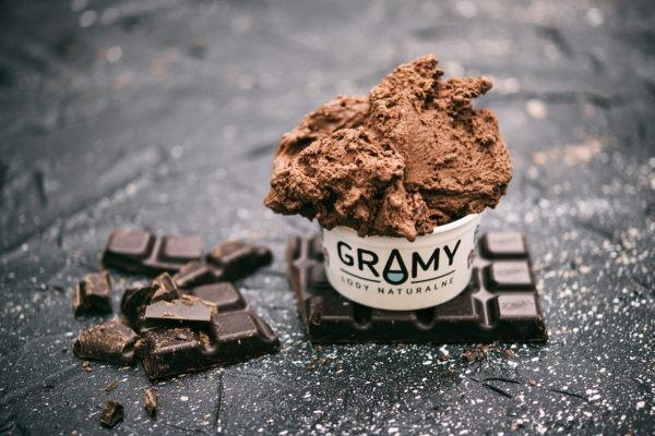 GRAMY - lody czekolada mleczna